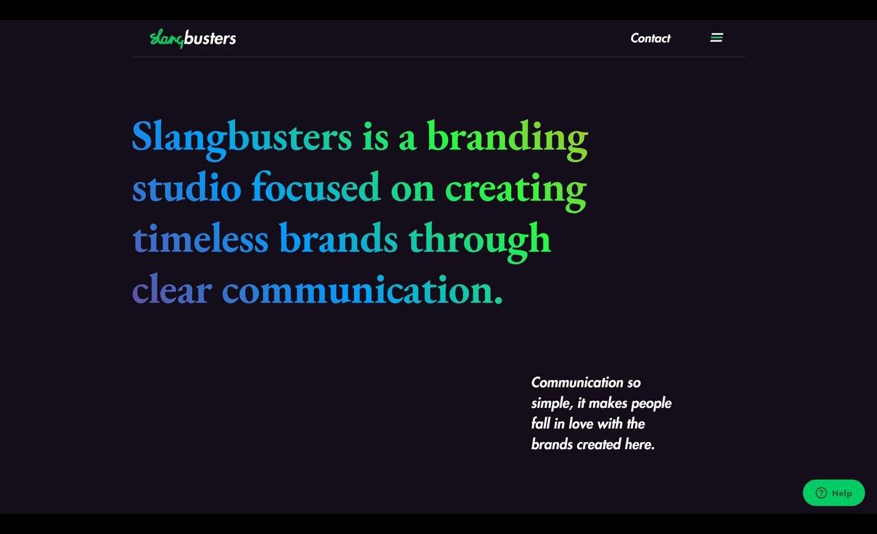 Slangbusters Branding Studio cover photo