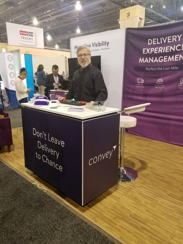 Trade Show Booth for Convey, Inc. cover photo