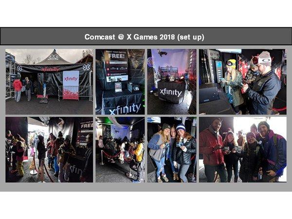 Comcast @ XGames Aspen cover photo