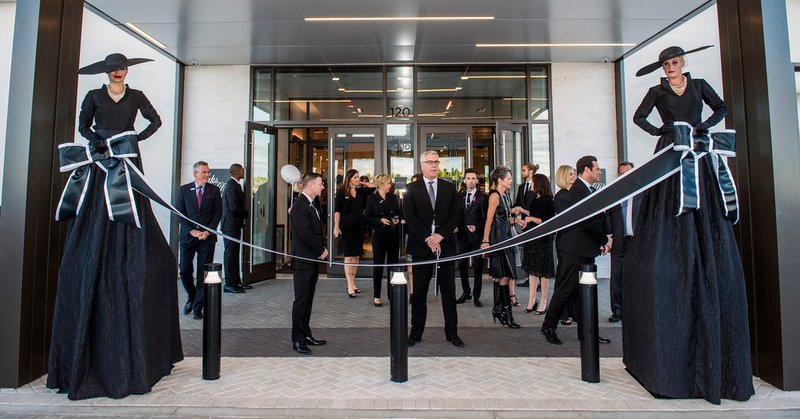 Saks Fifth Avenue, VIP Opening cover photo