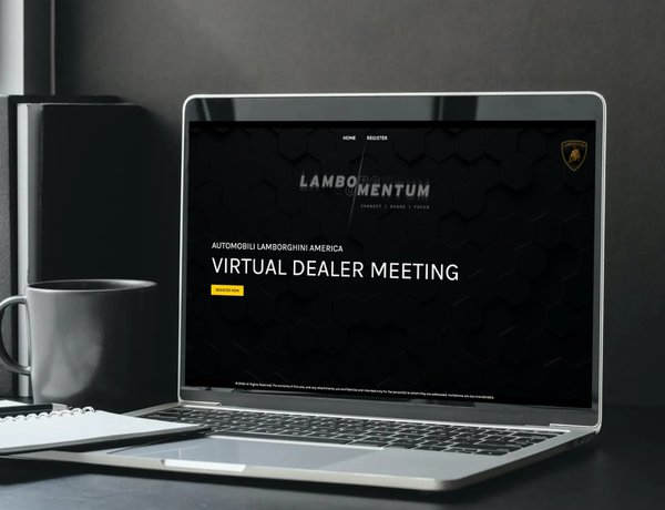 Virtual Dealer Meeting - Lamborgini cover photo