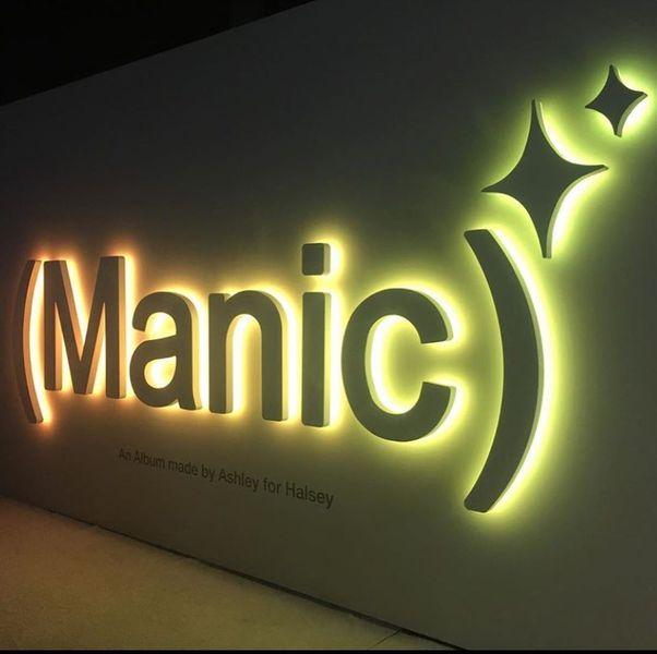"Halsey ""Manic"" album launch"