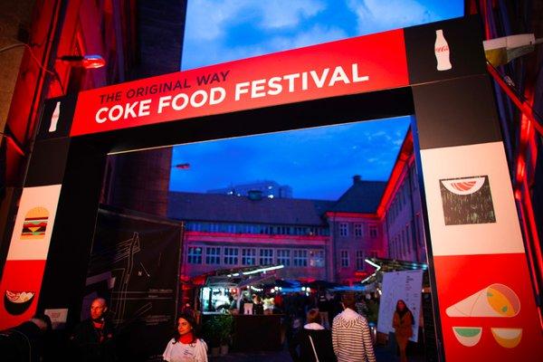 COKE FOOD FESTIVAL // COCA-COLA cover photo