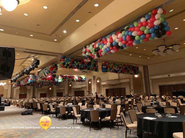 $100,000 balloon drop cover photo