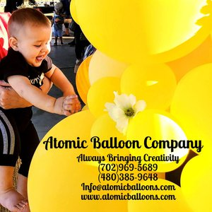 Hakim's First BEEday Celebration photo Atomic BEEday Birthday Balloon Decor 4.jpg