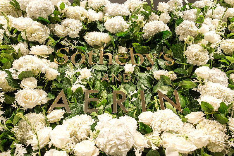 Aerin at Sothebys cover photo