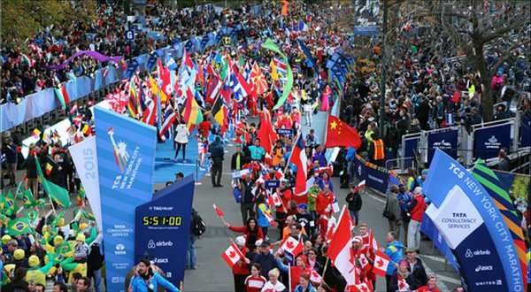 New York City Marathon Opening Ceremony