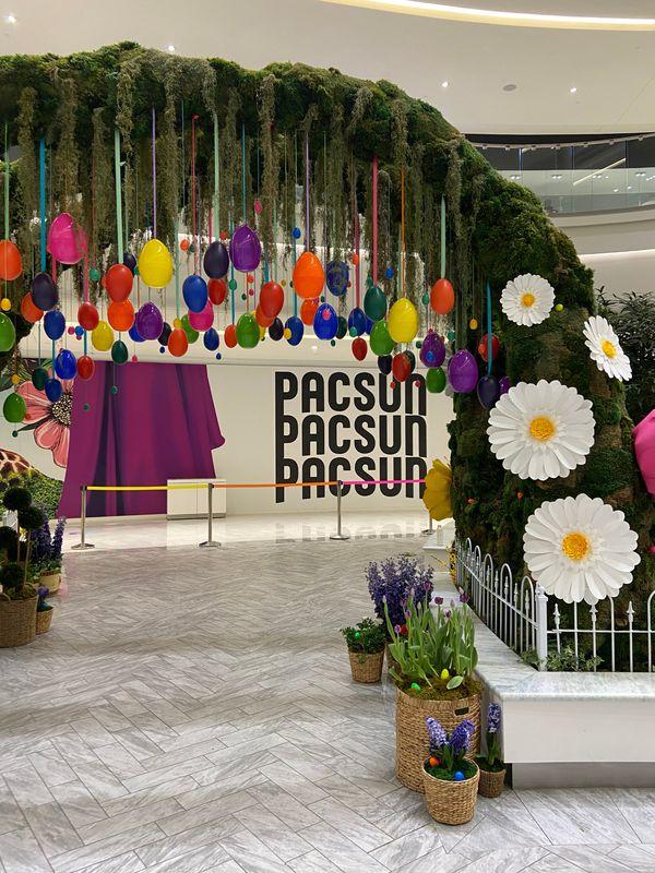 American Dream Mall Easter Installation
