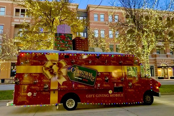 The Christmas Chronicles 2 Gifting Truck cover photo