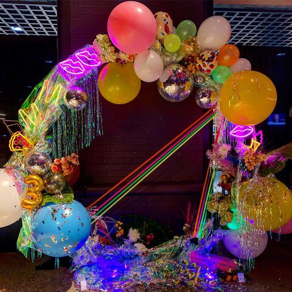 Midnight Market Neon Party