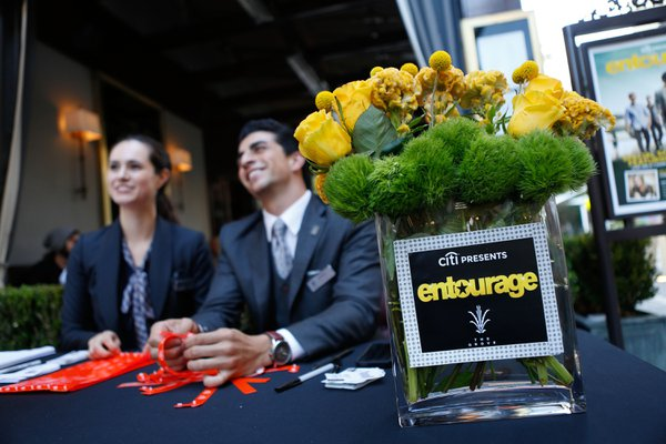 Entourage Premiere cover photo