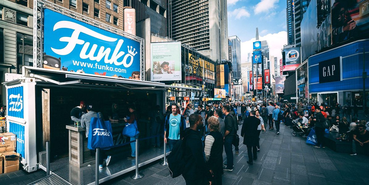 Pop-Up Activation Units to Rent or Buy service