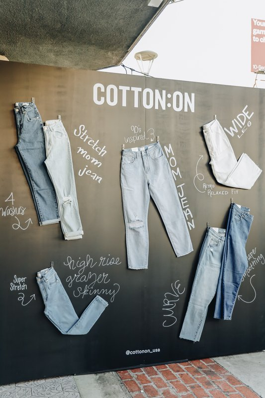 Cotton On U.S Denim Launch