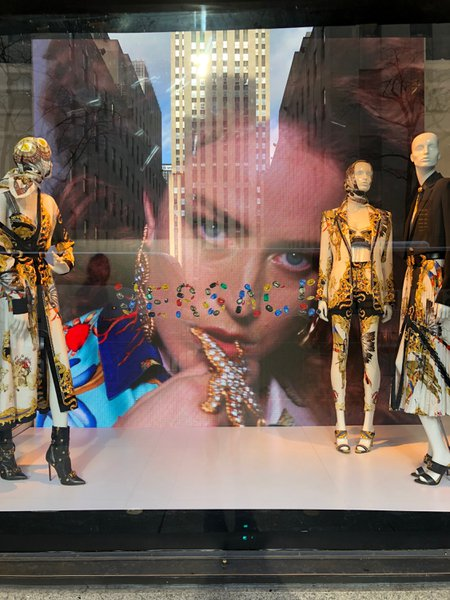 LED Walls for Versace @ Saks 5th Ave cover photo