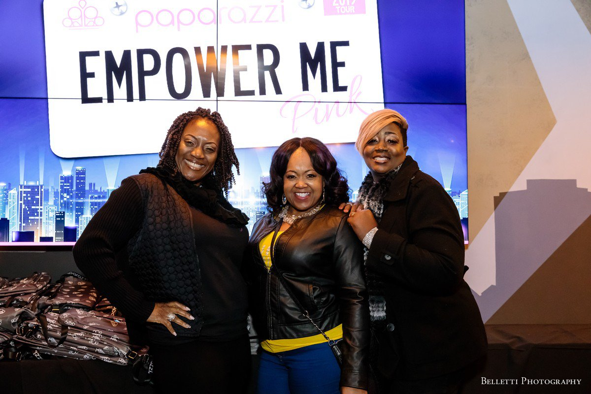 Paparazzi Accessories - Empower Me Pink  photo EmpowerMePink_Atlanta2019_0313.jpg