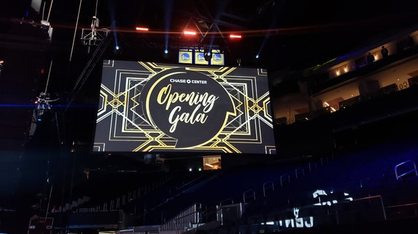 Chase Center Opening Gala cover photo