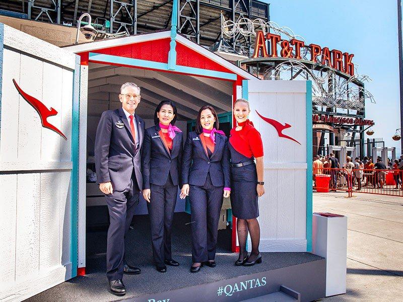 Qantas @VisitVictoria #GdayfromtheBay