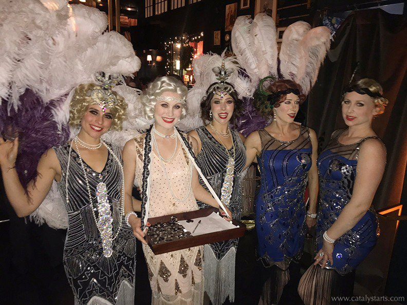 Gatsby themed Corporate party  photo 5_20'sShowgirls_w.jpg