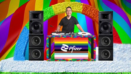 Live Virtual DJ Set For Pfizer