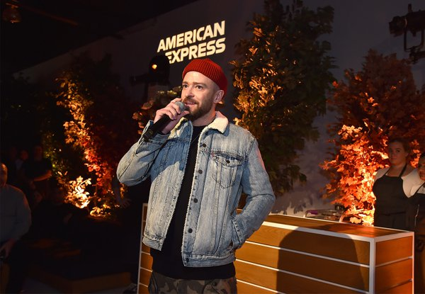 AMEX + Justin Timberlake cover photo