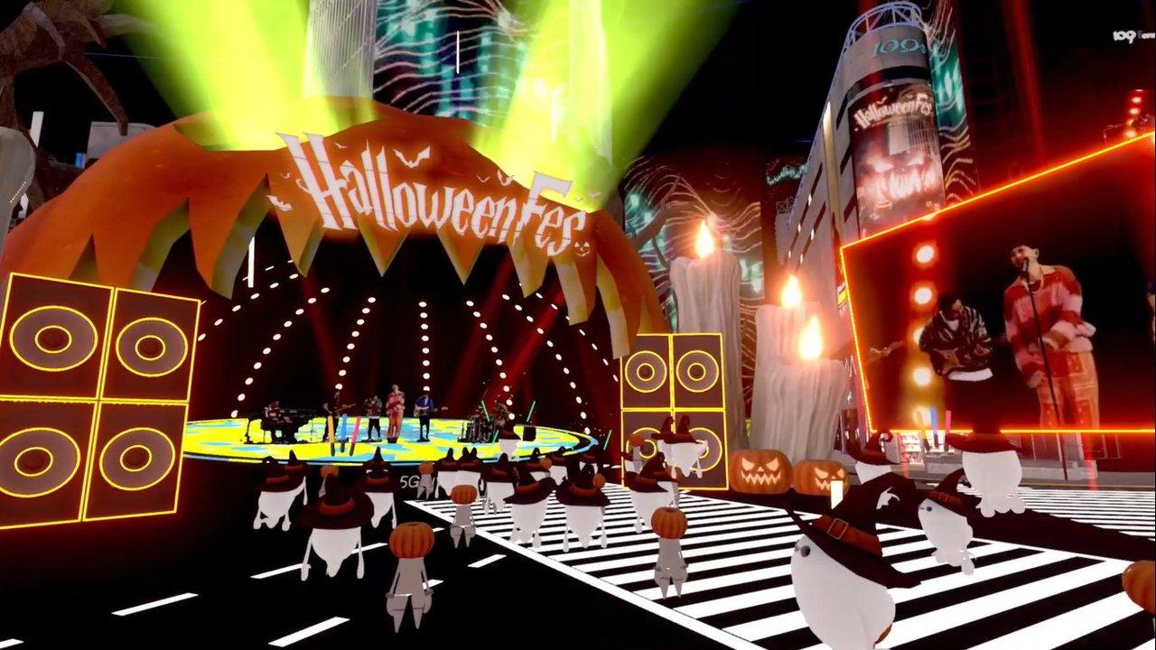Virtual Shibuya au 5G Halloween Festival photo 1060010.jpg