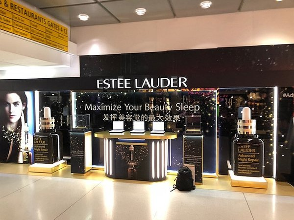 Estee Lauder Airport Activation cover photo