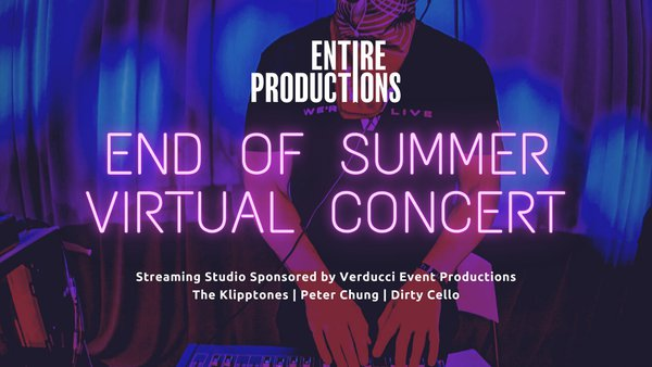 End Of Summer Virtual Concert cover photo