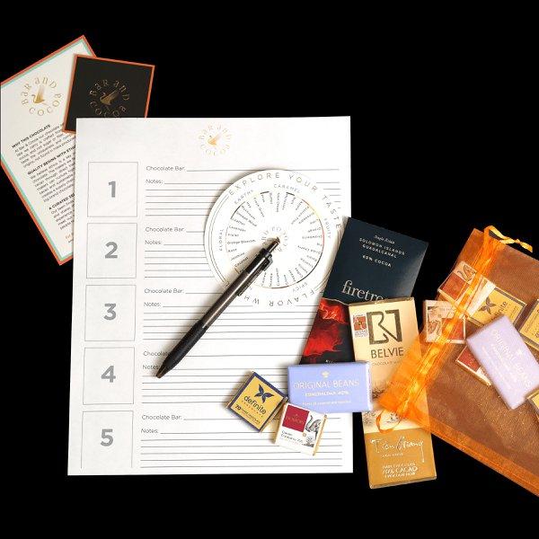 Virtual Chocolate Tasting Experience photo Chocolate-Tasting_Kit-Virtual-3.jpg