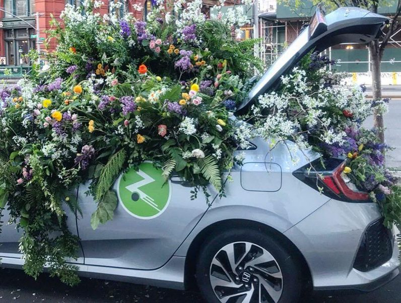 Large Scale Floral Installations service