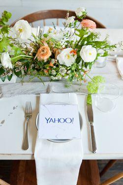 Yahoo Private Dinner