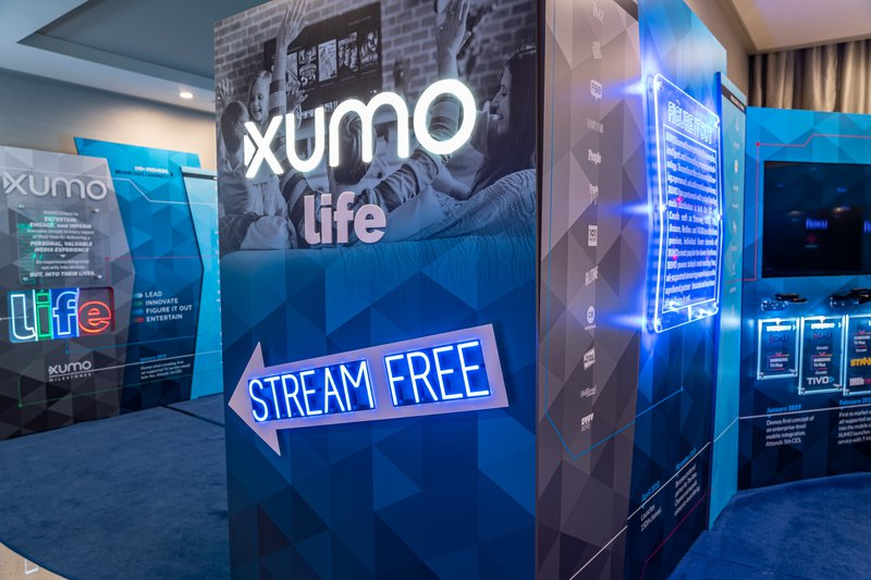 XUMO TV @ CES cover photo