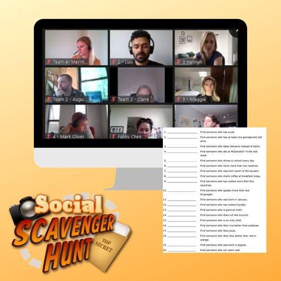 Social Scavenger Hunt - Networking photo tv photo 14.jpg