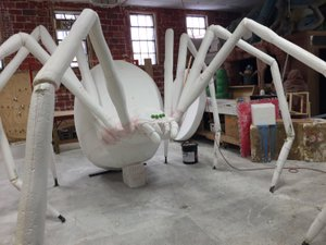 GIGANTIC Black Widow Spider Sculpt photo 7CD8F72D-96BD-40D4-8515-51C7A8715BB7.jpg