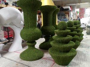 Moss Urns for Wedding Event photo moss urns 6ft.jpg