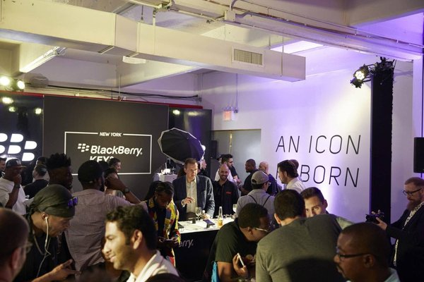 Blackberry NYC Press Key2 Launch Event cover photo