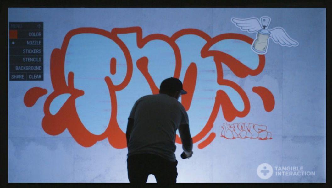 Digital Graffiti Wall service