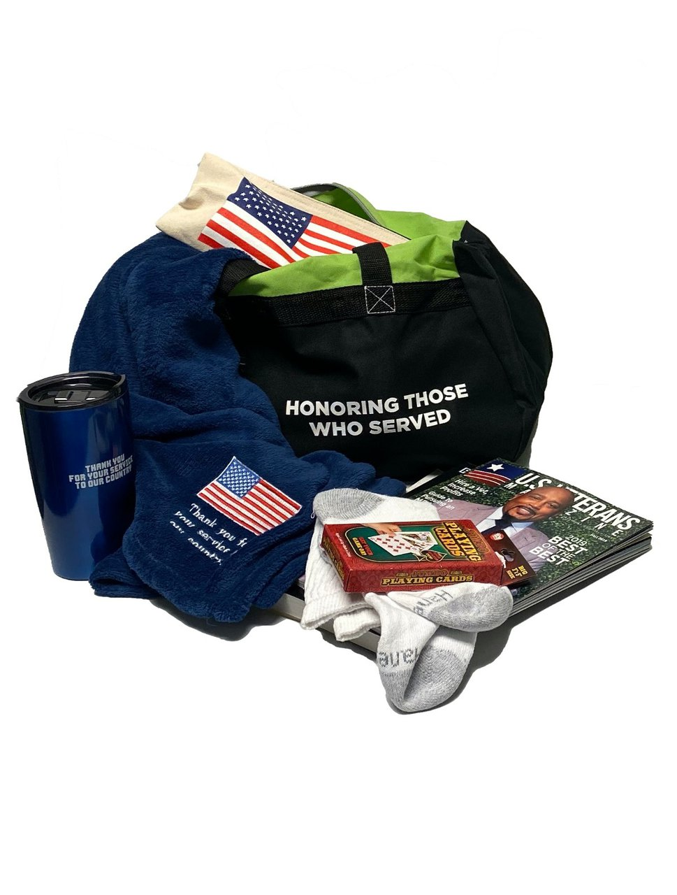 Virtual Team Building - Benefit Veterans photo Vet bag.jpg