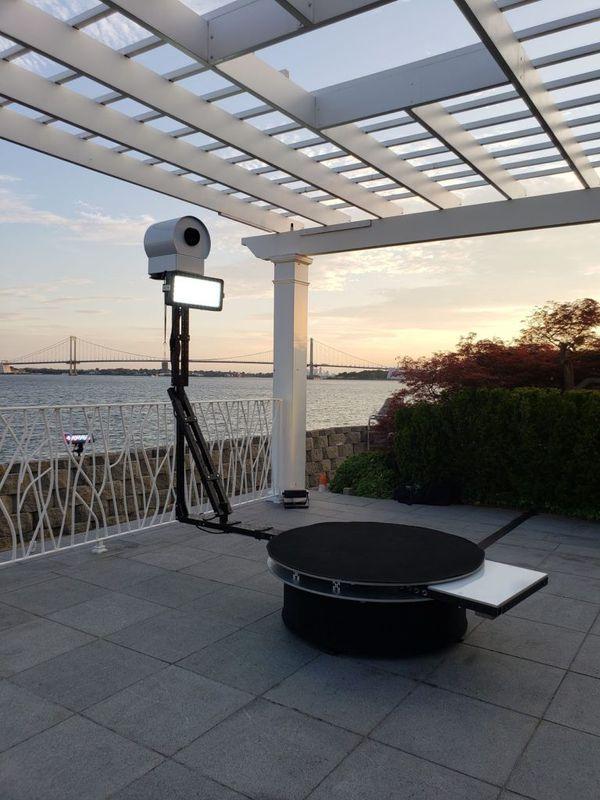 Outdoor Wedding - 360 Booth Amazing Set