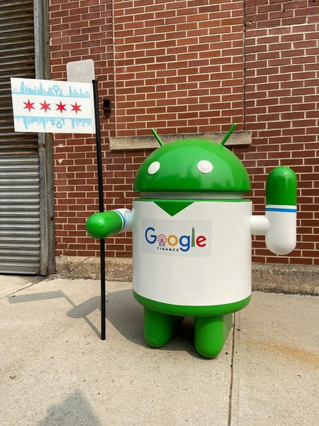 Google Android for Chicago Finance cover photo