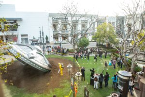 X-Files Pop-Up at the. Grove photo XFiles-6631.jpg