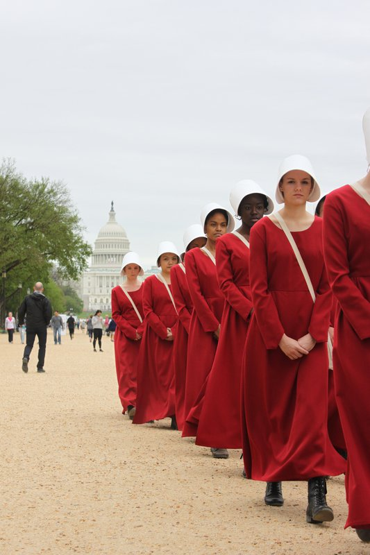 HULU Handmaid's Tale National Campaign cover photo