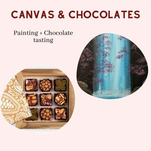 Virtual Painting & Chocolate Tasting Box photo Canvas & Chocolates - Bridal shower.jpg