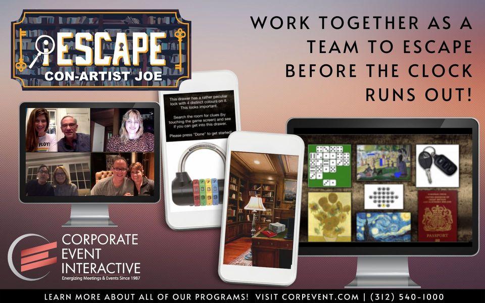 iEscape Virtual Escape Room