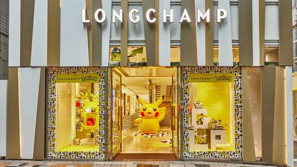 Longchamp x Pokemon Pop-Up Experience