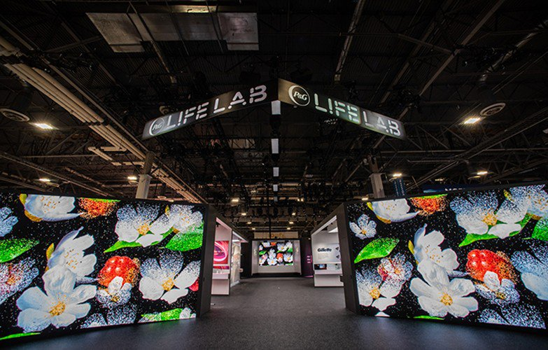 P & G Lif Lab at CES photo PG_CESExhibit_2.jpg