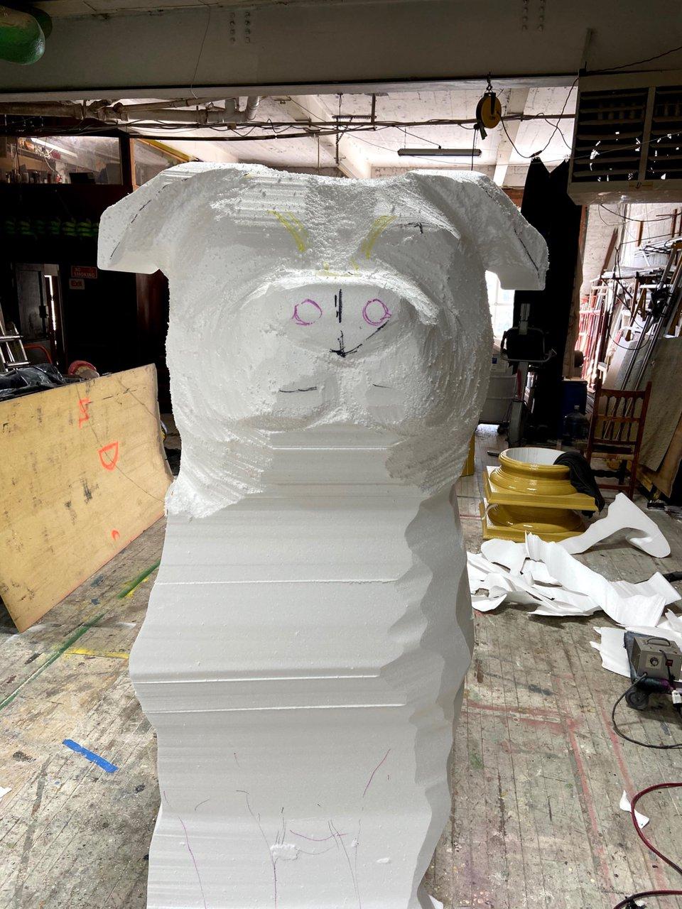 Fomo - 8 ft. Topiary Dog Sculpt photo 456A31F6-7BA2-47B4-A5D8-460746CD5021.jpg