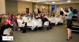 Grand Traverse Woman Leadership Seminar photo GT woman luncheon speaking 4 feb 2016.jpg