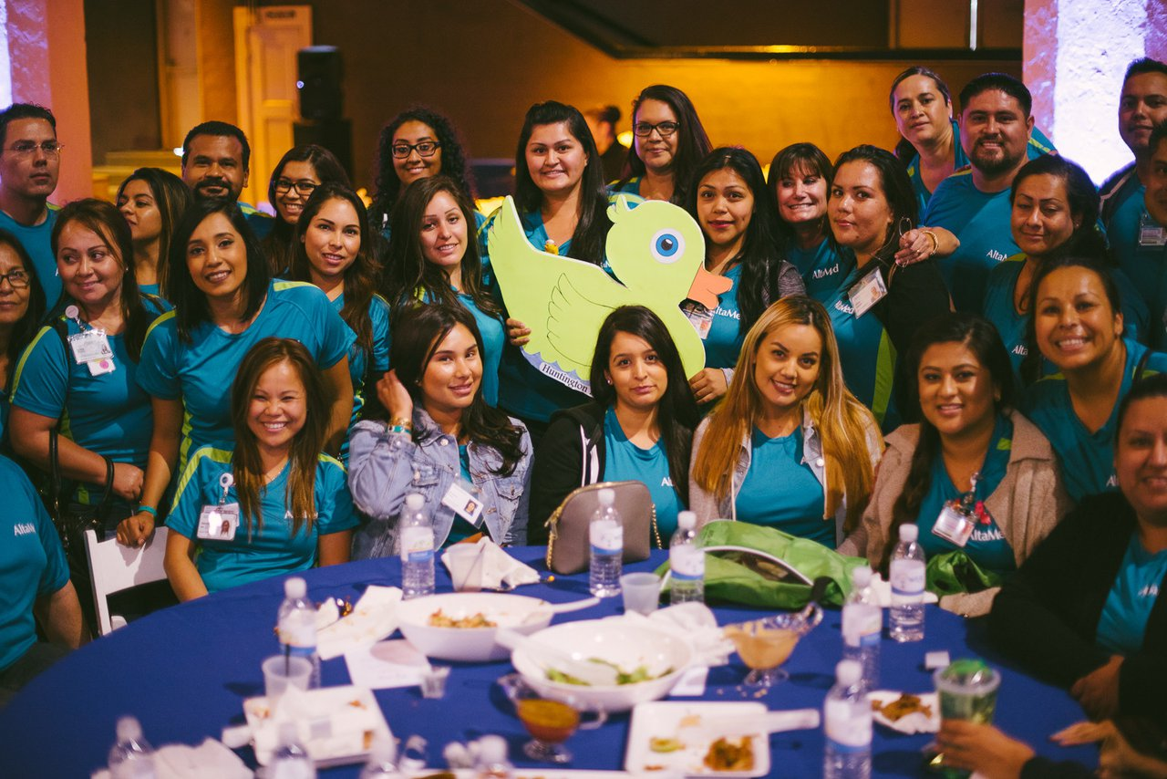 All-Hands Meeting for AltaMed photo Group Photo of Employees at Luncheon.jpg