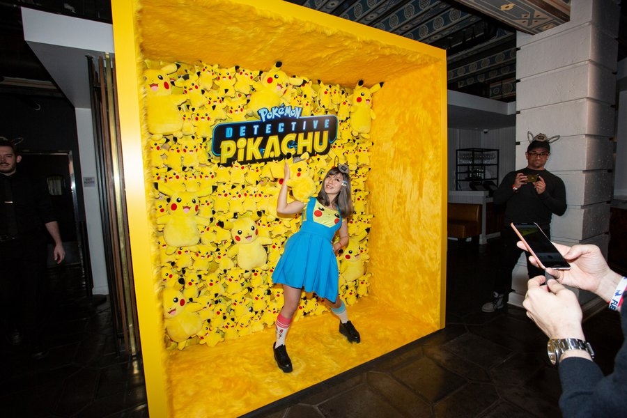 Warner Brother's Detective Pikachu Party