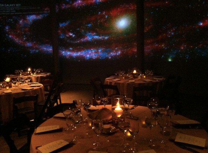 Planetarium space photo